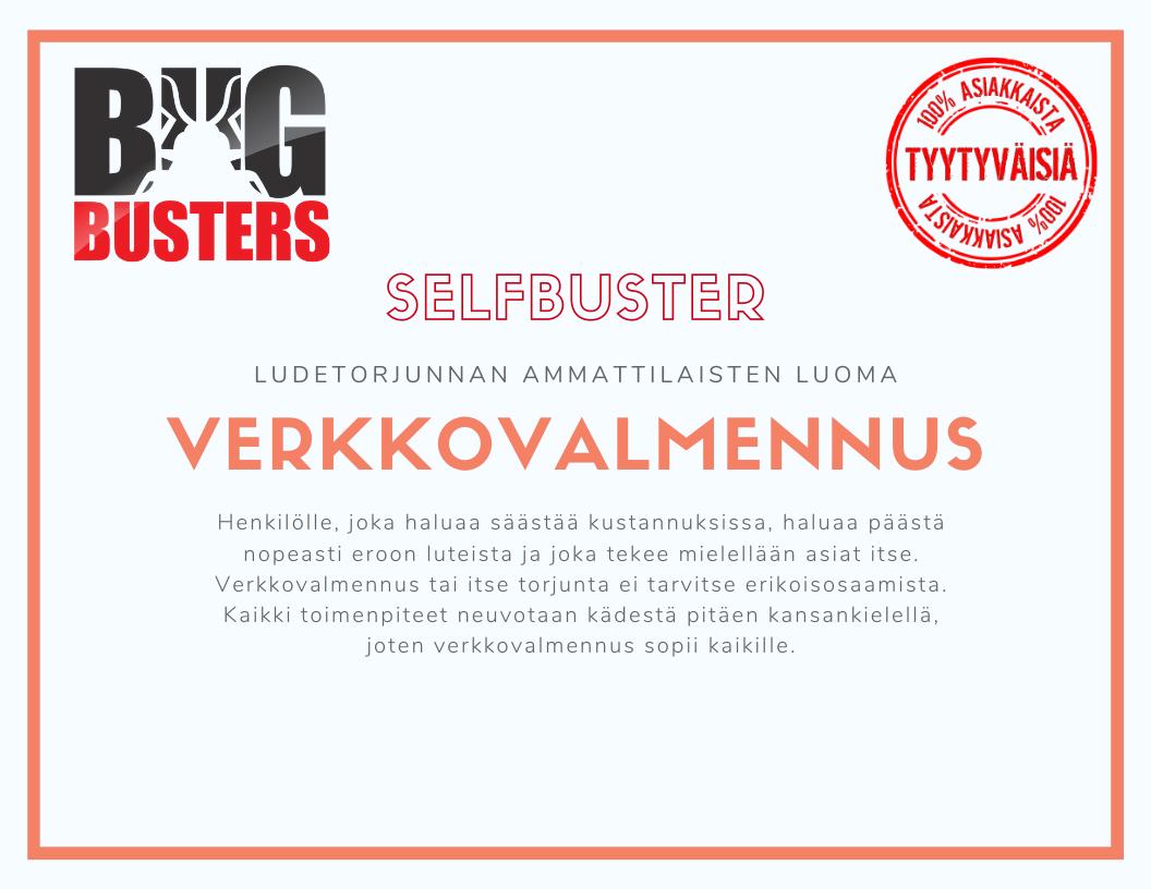 SelfBuster – Kesämökki Verkkovalmennus